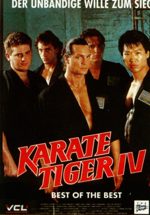 karate tiger iv best of the best badmovies. Black Bedroom Furniture Sets. Home Design Ideas